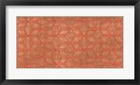 Framed Copper Pattern I