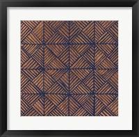 Framed Copper Pattern II