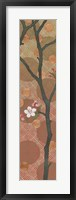 Framed Cherry Blossoms Panel II One Blossom