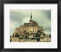 Framed Mont St. Michel