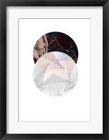 Framed Abstract Circle