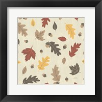 Framed Autumn Garden Pattern IVA