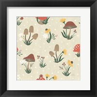 Framed Autumn Garden Pattern V