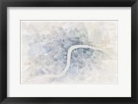 Framed Watercolor Wanderlust London