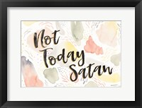 Meadow Breeze VI Not Today Satan Framed Print