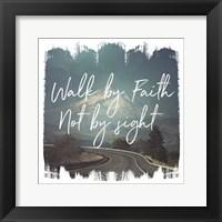 Wild Wishes III Walk by Faith Framed Print
