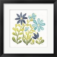 Framed Garden Getaway Flowers II