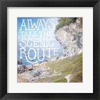 Coastal Adventures II Framed Print