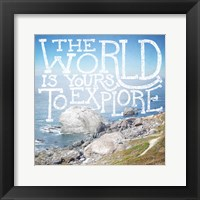 Coastal Adventures IV Framed Print