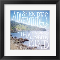 Coastal Adventures III Framed Print