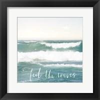 Framed Feel the Waves