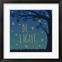 Framed Twilight Fireflies IV