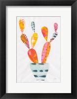 Framed Collage Cactus IV