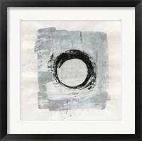 Framed Zen Circle I