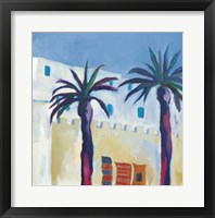 Framed Palm Trees and Rugs