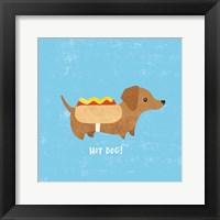 Framed Good Dogs Dachshound