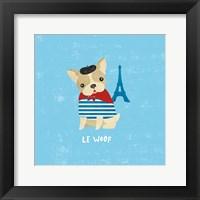 Framed Good Dogs French Buldog