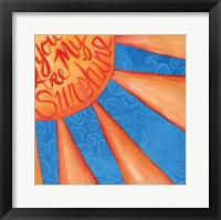 Framed You Are My Sunshine