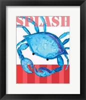 Framed Splash Crab 2