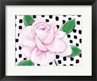 Framed Pink Rose II