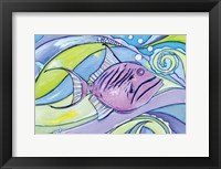 Framed Surfin' Fish