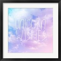 Framed Unicorn Wishes