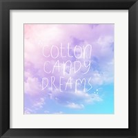 Framed Cotton Candy Dreams