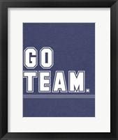 Framed Go Team