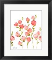 Framed Peach Flowers