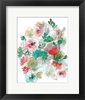 Framed Jungle Flowers