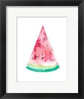 Framed Watermelon Slice