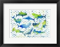 Framed Triangle Sharks