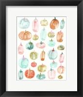 Framed Light Pumpkins 300
