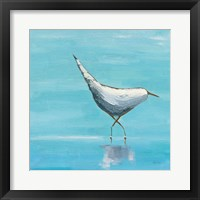 Framed Egret I Bright