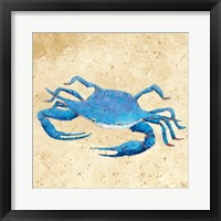 Framed Blue Crab V Neutral Crop