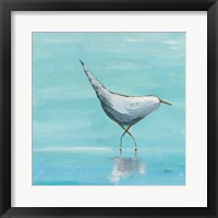 Framed Egret I