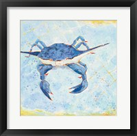 Framed Blue Crab VI