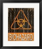 Framed Biohazard