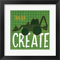 Framed Tractor Create
