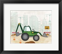Framed Backhoe