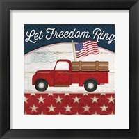 Framed Let Freedom Ring