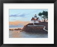 Framed Battery Pt. Lighthouse