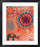 Framed Bohemian Elephant