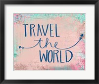 Travel the World Framed Print
