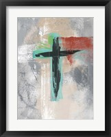 Framed Contemporary Cross III
