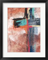 Framed Contemporary Cross V