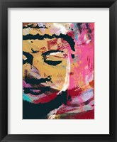 Framed Painted Buddha III