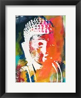 Framed Painted Buddha V