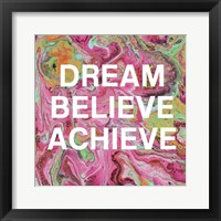 Framed Dream, Believe, Achieve