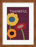 Framed Multicolor Thank You